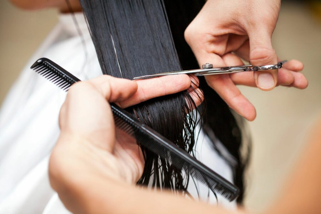 Haven Salon & Spa offers the latest hair techniques
